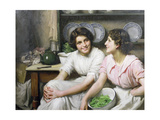 Chatterboxes, 1912 Giclee Print by Thomas Benjamin Kennington