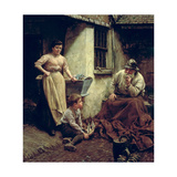 A Chip Off the Old Block, 1905 Giclee Print by Walter Langley