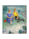 Spring, 1935 Giclee Print by Kuzma Sergeevich Petrov-Vodkin