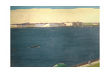 The River Neva, 1934 Giclee Print by Aleksei Eremeevich Karev