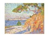 Paysage Du Midi, c.1910 Giclee Print by Theo Van Rysselberghe