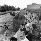Closure of the Border at Kleinmachnow Near West Berlin, Just Prior to the C Photographic Print by  German photographer