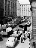 Glasgow Markets, Fruit Market Unloading, 1955 Photographic Print