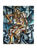 Seated Figure, 1914-15 Giclee Print by Lyubov Sergeevna Popova