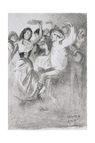 Gypsy Marriage Dance, from the Zincali by George Barrow (1803-81), Published in London, 1923 Giclee Print by Arthur Wallis Mills
