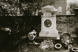 Edgar Allan Poe's (1809-49) Grave, Baltimore, Untitled 28, c.1953-64 Photographic Print by Nat Herz