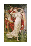 Art and Life, 1907 Giclee Print by Walter Crane