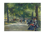 Hyde Park, London Giclee Print by Count Girolamo Pieri Nerli