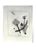 Suprematist Composition, c.1915-16 Giclée-tryk af Kasimir Malevich