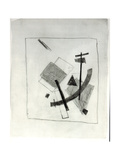 Suprematist Composition, c.1915-16 Giclee Print by Kasimir Malevich