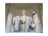 Abraham Lincoln, 1914-20 (View from Foot of the Chair) Giclee Print by Daniel Chester French