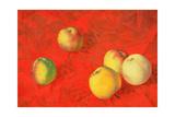 Apples, 1917 Giclee Print by Kuzma Sergeevich Petrov-Vodkin