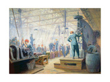 Women Operators, 1919 Giclee Print by George Agnew Reid