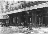 The 'Heidt' Pub in Paris Sacked at the Beginning of the War, August 1914 Photographic Print by Jacques Moreau