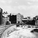A Corner of Partick from the Partick Bridge, 1955 Fotografická reprodukce