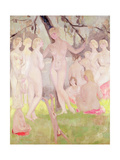The Bathers Giclee Print by Jacqueline Marval
