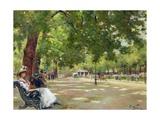Hyde Park, London Giclee Print by Count Girolamo Pieri Nerli