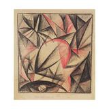 Rhythm of Forms (Study), 1915 Giclee Print by Alexander Bogomazov