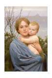 Madonna of the Mount Giclee Print by Thomas Cooper Gotch
