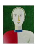 Female Portrait, 1928-32 Giclee Print by Kazimir Severinovich Malevich