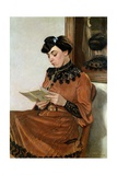 Woman Reading, 1906 Giclee Print by Felix Edouard Vallotton