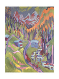 The Sertig Path in Summer, 1924 Giclee Print by Ernst Ludwig Kirchner