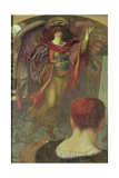 The Painter's Vision: Angela Dorothea, 1903 Giclee Print by John Riley Wilmer