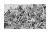 Harold's (C.1022-66) Last Stand, Illustration from 'British Battles on Land Giclee Print by Richard Caton Woodville II