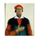 Self Portrait as an Artist, 1933 Giclee Print by Kasimir Malevich