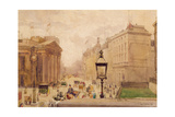Pall Mall from the National Gallery, with a View of the Royal College of Physicians, 1911 Giclee Print by Joseph Poole Addey