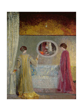 The Dispute, 1911 Giclee Print by George Sauter