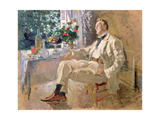 Portrait of the Opera Singer Feodor Ivanovich Chaliapin (1873-1938) 1911 Giclee Print by Konstantin A. Korovin