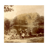 Bike Ride, c.1905-10 Giclee Print by  French Photographer