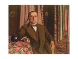 Portrait of Georg E. Haasen, 1913 Giclee Print by Félix Vallotton