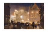 The Haymarket, London, c.1910 Giclee Print by George Hyde Pownall