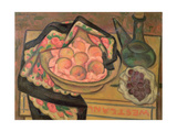 Peaches and a Green Bottle, 1931 Giclee Print by Mark Gertler