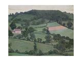 Rosemary La Vallee, 1916 Giclee Print by Robert Polhill Bevan