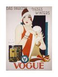 German Advertisement for 'Vogue' Perfume, Printed by Wolff and Sohn, 1927 Giclée-Druck von Jupp Wiertz