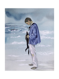 Breton Fisherman's Prayer, an Illustration for 'Youngsters Prayers' Giclee Print by Janet and Anne Johnstone
