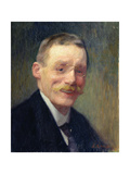 Self Portrait, Smiling Giclee Print by Jules Ernest Renoux