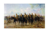 The Retreat from Mons, 1927 Giclee Print by Lady Butler