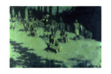 Apache Scouts Listening, 1908 Giclee Print by Frederic Remington