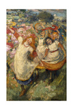The Dance of Spring Giclee Print by Edward Atkinson Hornel