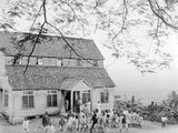 A Country School, Jamaica, 1908-09 Photographic Print by Harry Hamilton Johnston