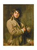 Portrait of Sir John Martin Harvey, as Sydney Carton in 'The Only Way'/'A Tale of Two Cities' by… Giclee Print by Charles Haslewood Shannon