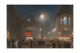 London Theatreland, c.1910 Giclee Print by George Hyde Pownall