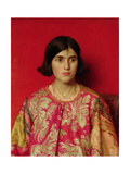 "The Exile: ""Heavy Is the Price I Paid for Love"", 1930 Giclee Print by Thomas Cooper Gotch"