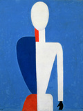 Torso, Transformation to a New Shape, 1928-32 Reproduction procédé giclée par Kasimir Malevich