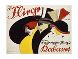German Advertisement for the Cabaret 'Die Fliege' in Berlin, Printed by Hollerbaum and Schmidt,… Giclee Print by Hans Rudi Erdt
