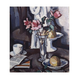 Still Life with Red Roses, c.1931 Giclee Print by Samuel John Peploe